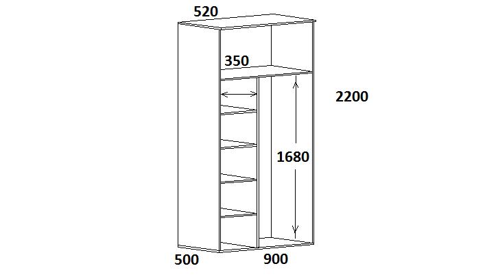 Шкаф 2200