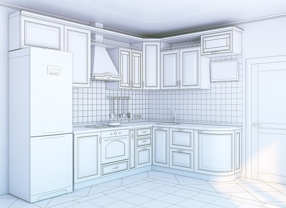 Деталировка корпусной мебели по схеме сборки