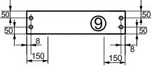 боковая планка ящика