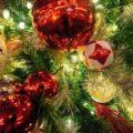 Нарядная новогодняя ёлка