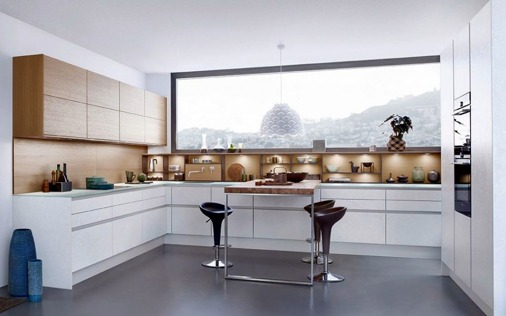 Кухонный гарнитур в кромке пвх