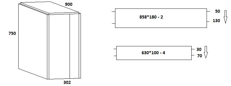 Схема и присадка стол книжка